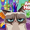 Grumpy cat frizura