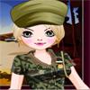 Obuci devojku za vojsku