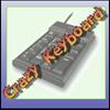 Luda tastatura