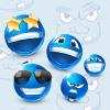 Plavi smajli