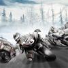 Ledena motoristička trka...