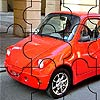 Mali crveni auto puzle