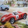 Stari Sportski crveni aut...