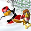 Pingvin na skejtu