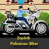Policajac na motoru