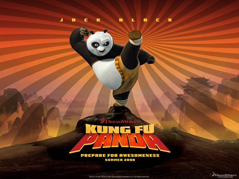 Kung fu Panda u borbi